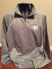ADULT - Quarter Zip Sweatshirt with Pockets F125