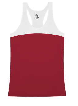 NEW - BADGER DOUBLE BACK TANK - PICK YOUR TEAM