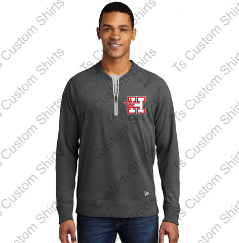 Hotshots - NEA123  New Era ® Sueded Cotton Blend 1/4-Zip Pullover