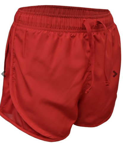 LADIES AND GIRLS  -  Solid Running Short