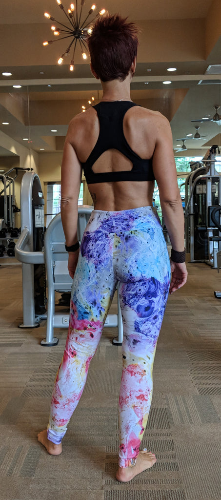 Microscopic Rainbow - Leggings