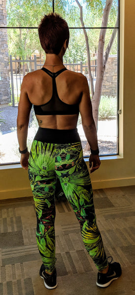 Jungle Fly - Leggings - Ideal for Yoga