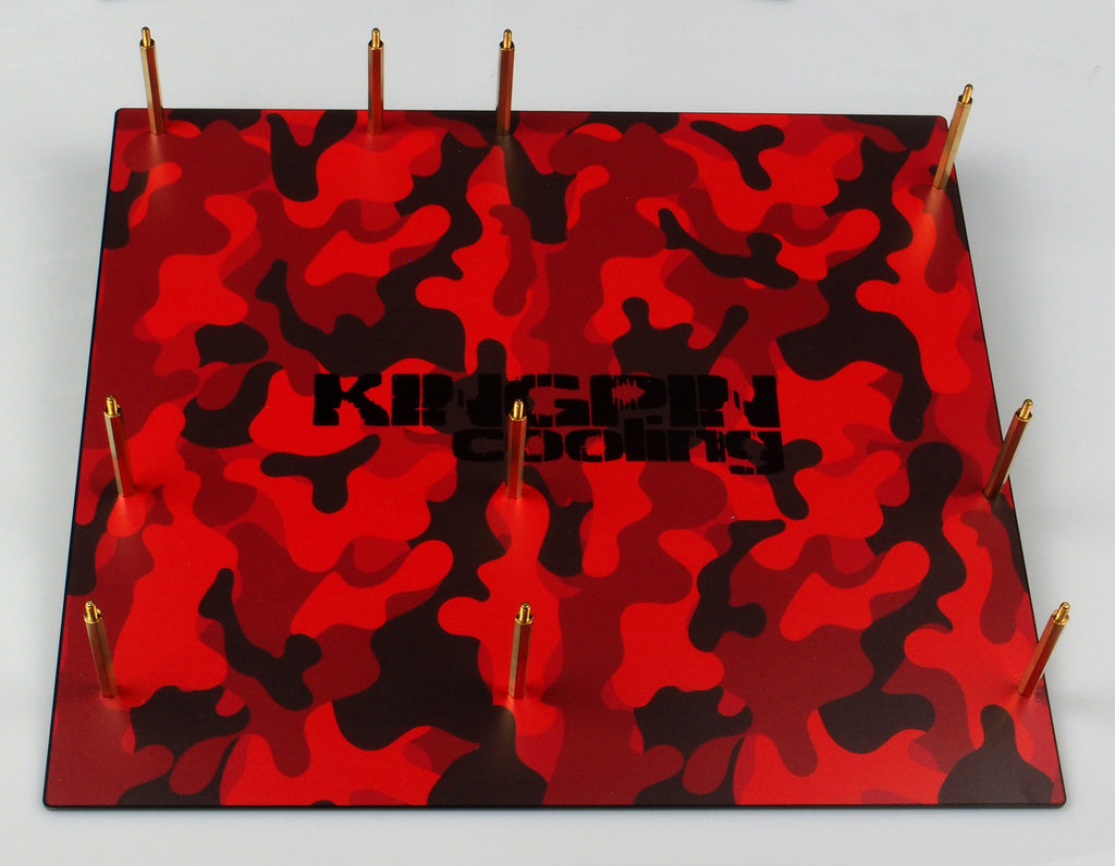 ATLAS Bench Stand Red Camo