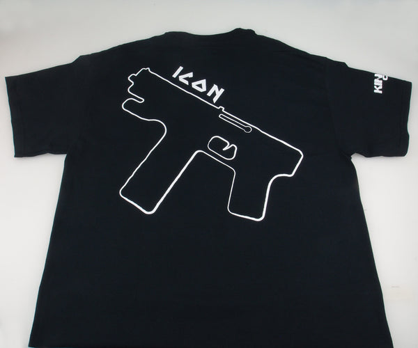 "KINGPIN COOLING white logo ""ICON"" T-shirt"