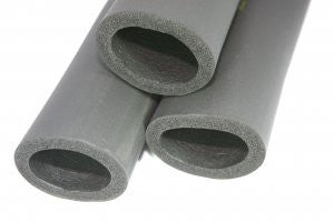 Round tube foam insulation