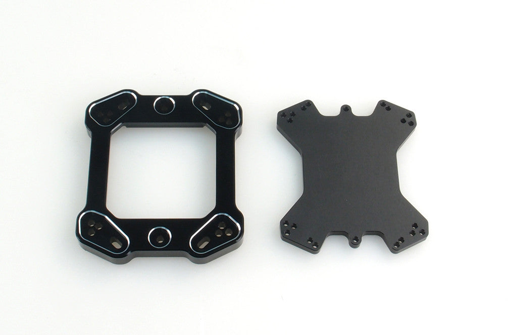F1 Series Mounting Bracket Kit Black V5.0