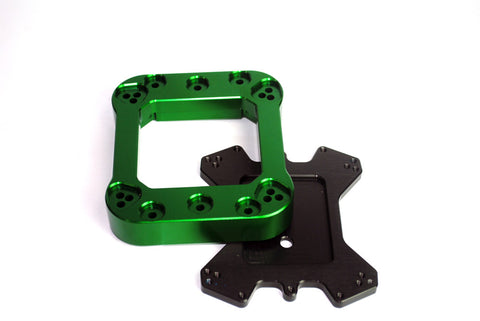 F1 Bracket Kit Green