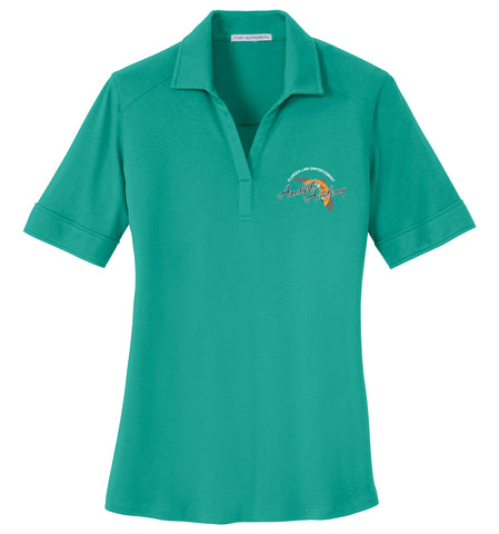Analyst Academy - L5200  Port Authority® Ladies Silk Touch™ Interlock Performance Polo