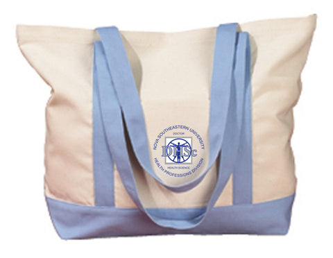 NSU DHSc - BE004 BAGedge 12 oz. Canvas Boat Tote