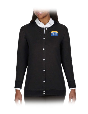FMB Ladies' Perfect Fit™ Ribbon Cardigan