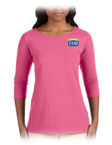 FMB Ladies' Ballet Bracelet-Length Knit Top