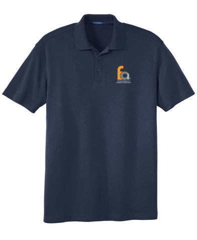 FACD Logo K5200  Port Authority® Silk Touch™ Interlock Performance Polo