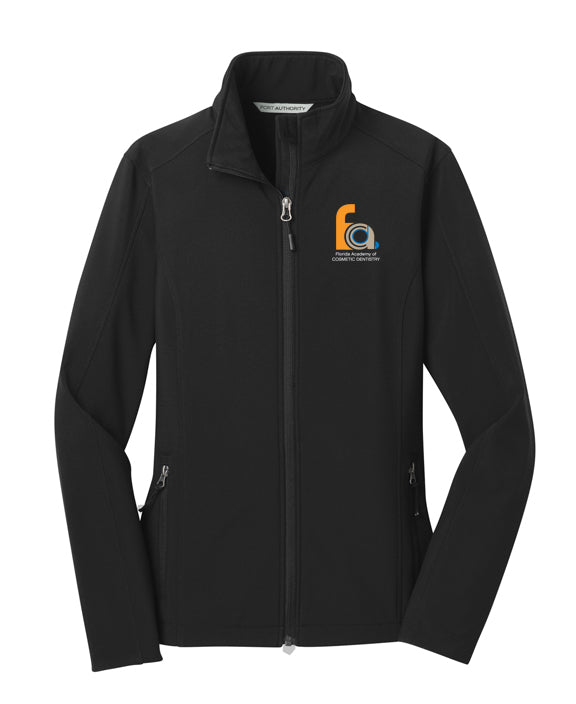 FACD Logo L317  Port Authority® Ladies Core Soft Shell Jacket
