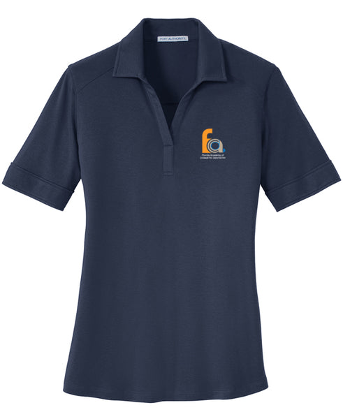 FACD Logo L5200  Port Authority® Ladies Silk Touch™ Interlock Performance Polo