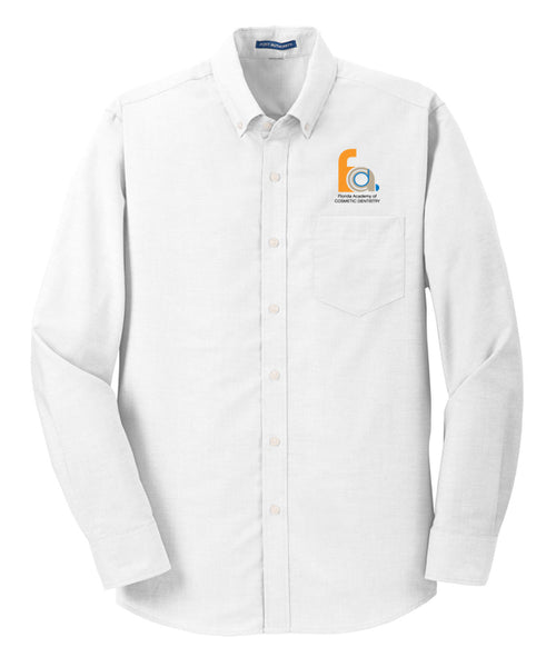 FACD Logo S658  Port Authority® SuperPro™ Oxford Shirt