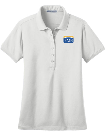 FMB Ladies Stretch Pique Polo