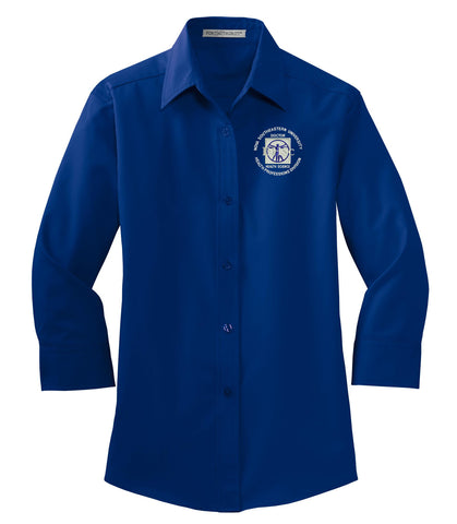NSU DHSc - L612 Port Authority® Ladies 3/4-Sleeve Easy Care Shirt