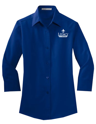 Legacy Toyota-L612 Ladies 3/4-Sleeve Easy Care Shirt