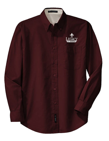Legacy Toyota-S608 Mens Long Sleeve Easy Care Shirt