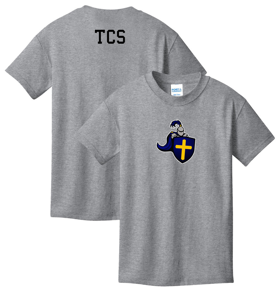 TCS Short-Sleeve PE Uniform T-shirt (Middle School only)