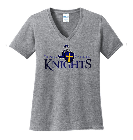 TCS Ladies V-neck Spirit Tee