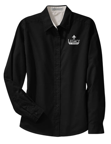 Legacy Toyota-L608 Ladies Long Sleeve Easy Care Shirt