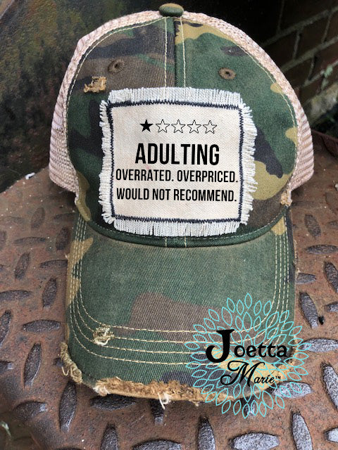 Adulting hat