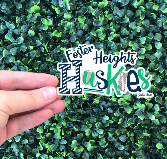 Foster Heights Sticker