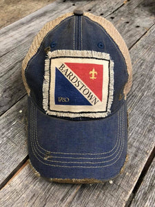 City of Bardstown Flag Distressed Patch Hat