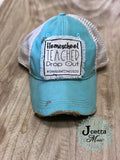 Homeschool teacher dropout hat
