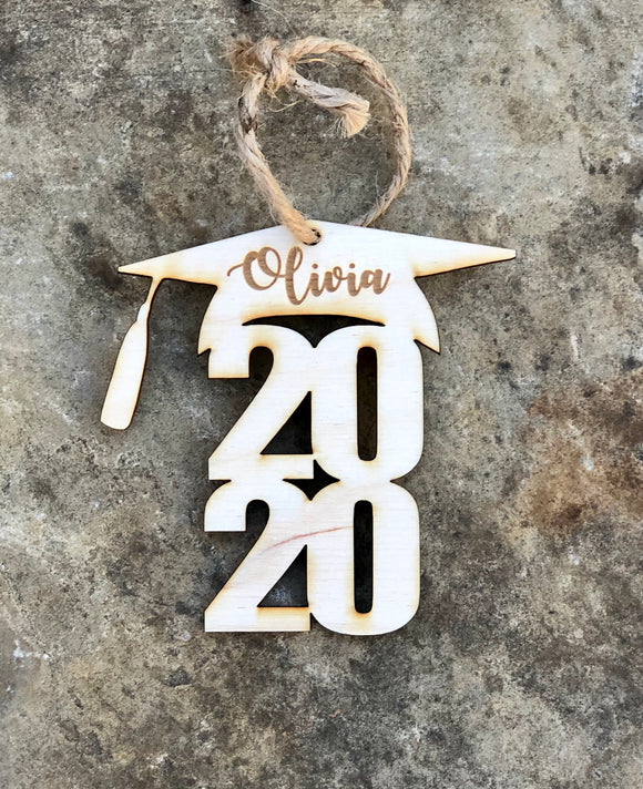2020 Graduation Cap ornament