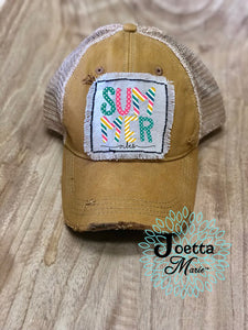 Summer vibes hat