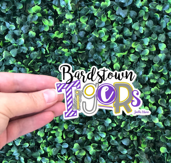 Bardstown Tigers sticker