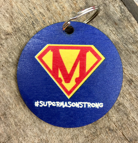 #Supermasonstrong keychain