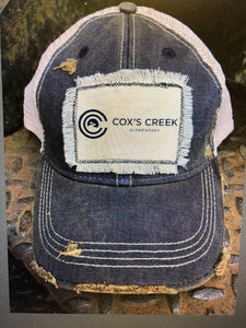 Coxs Creek Distressed Patch Hat