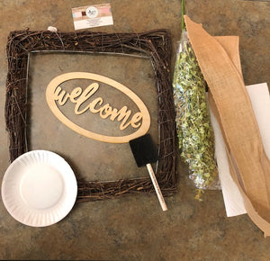 DIY GRAPEVINE WREATH KIT