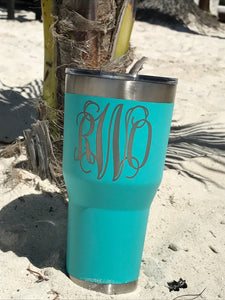 30 oz stainless steel tumbler Personalized