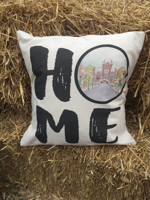 Bardstown KY Downtown Pillow