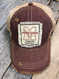 Distressed Patch Hat MARION STRONG