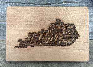 KY State Cutting Board