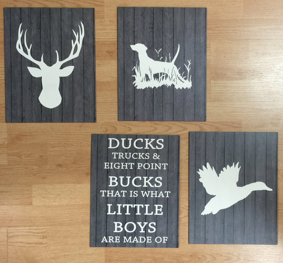 11x14 Wooden Plaques