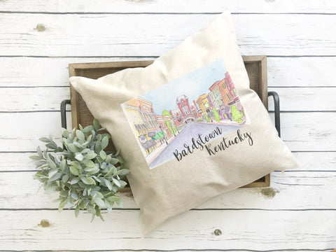 Coxs Creek Fundraiser Downtown Bardstown Pillow