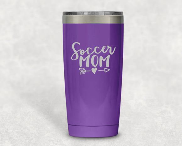 Soccer Mom 20 oz Tumbler