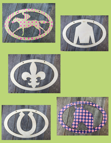 Derby Oval Door Hangers
