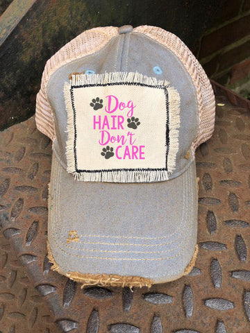 Barktown Rescue Distressed Patch Trucker Hat