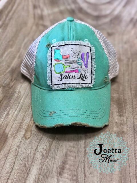 Salon life hat