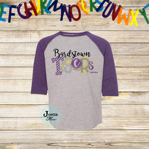 Bardstown 3/4 raglan Toddler and Youth