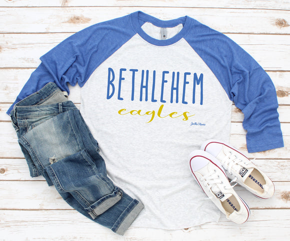 Bethlehem Eagles 3/4 raglan