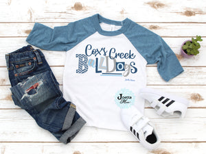 Cox's Creek 3/4 raglan Toddler and Youth