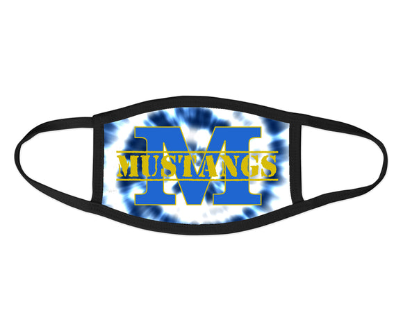 New Haven Mustangs Face Mask